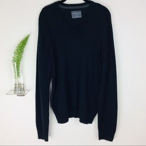 Aeropostale Comfy Casual Black Sweater Size (L)